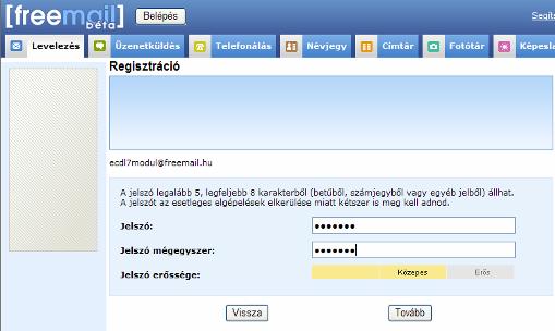 Bejelentkezés freemail levelezés hu Freemail szimpla